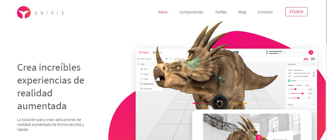 Onirix plataforma realidad aumentada