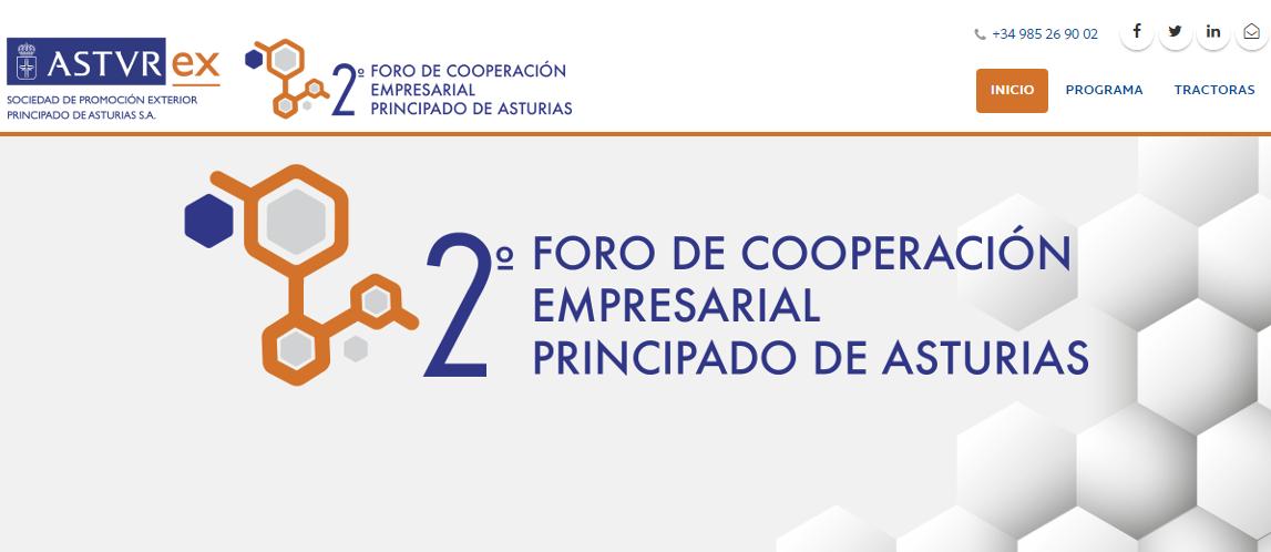 Imagen Foro Cooperacion Empresarial AsturiasImagen Foro Cooperacion Empresarial Asturias