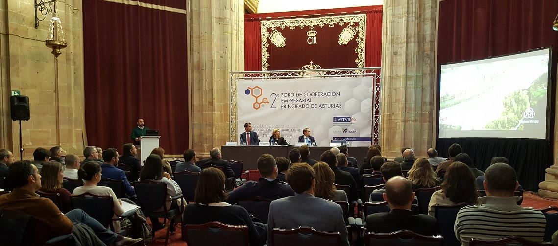 Foto Foro de Cooperación Empresarial SRP IDEPA Asturex