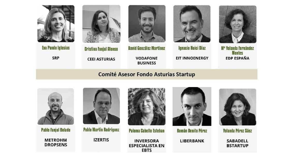 Comité Asaesor Fondo Asturias Startup