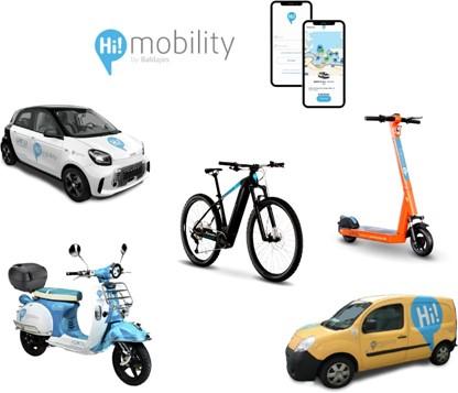 Vehículos de HiMobility