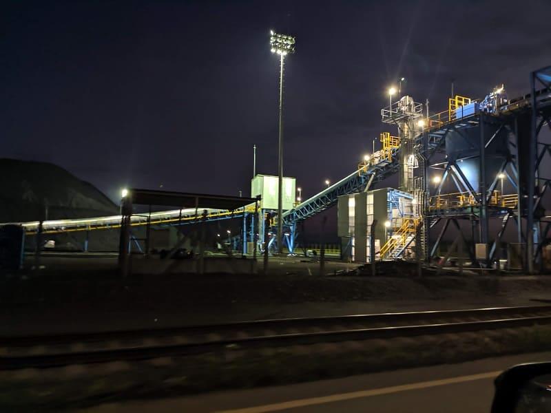 Proyecto de ingeniería eléctrica y de control para el traslado de carbón desde el puerto a planta en México.