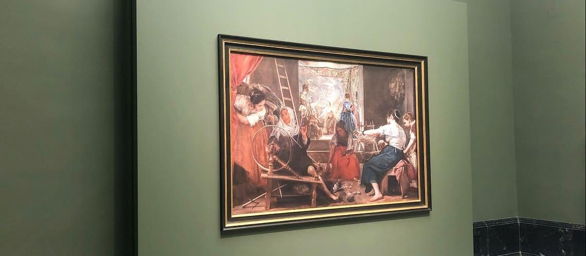 Las hilanderas Velázquez Proasur