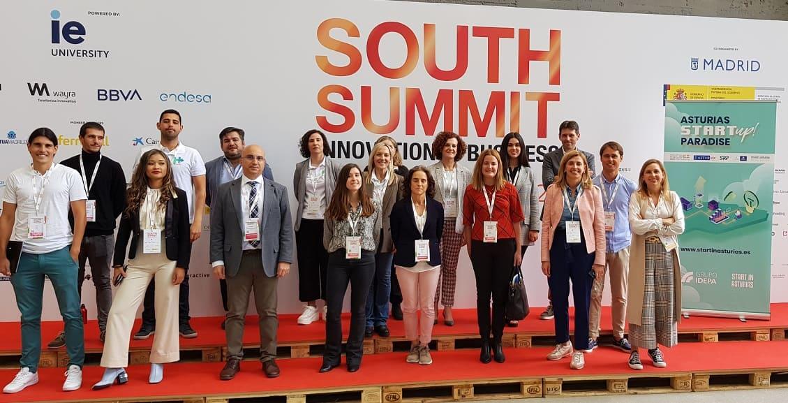 SRP participa en Soutj Summit Delegación asturiana