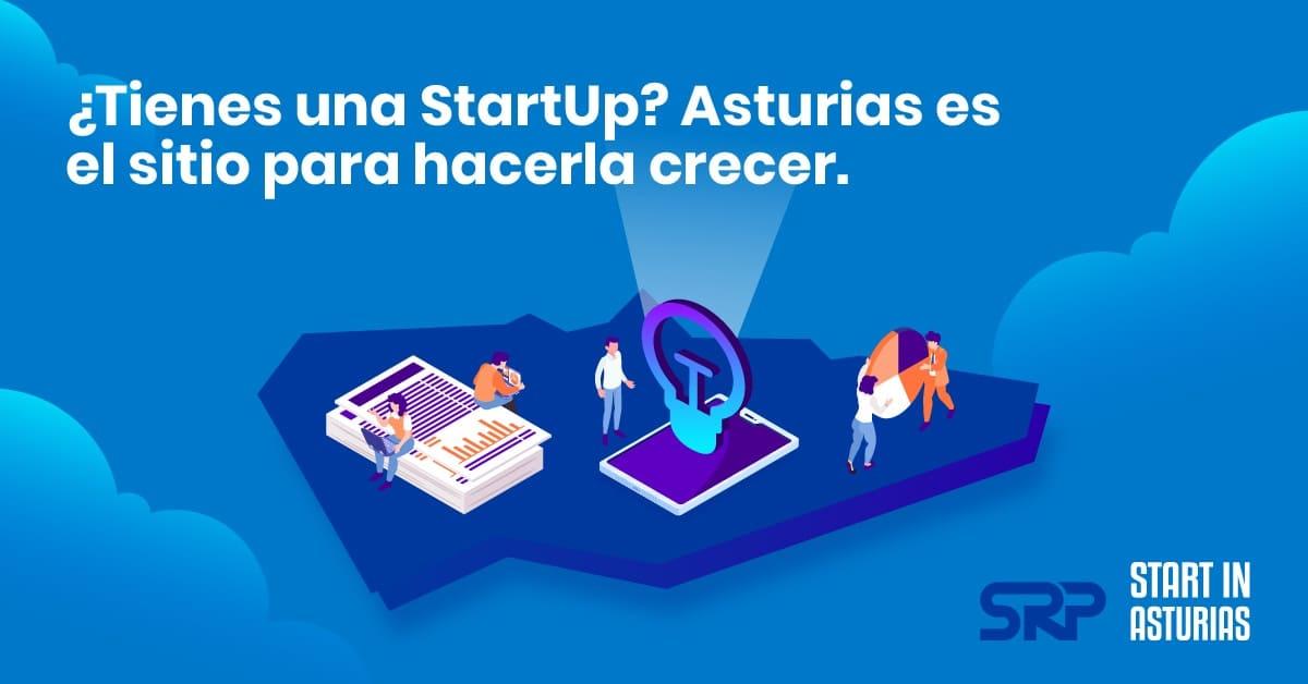 Infografía Fondo Asturias Startup de SRP Asturias